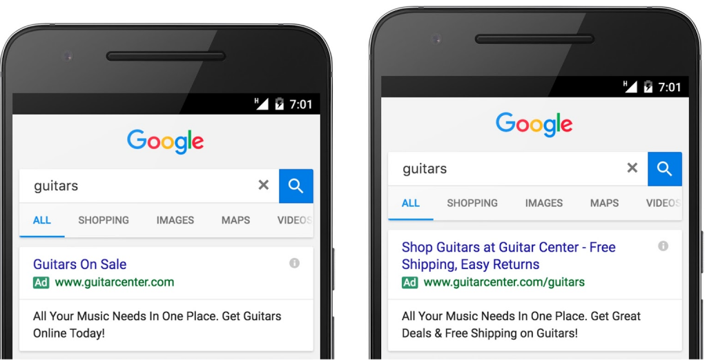 Image showing Google search result